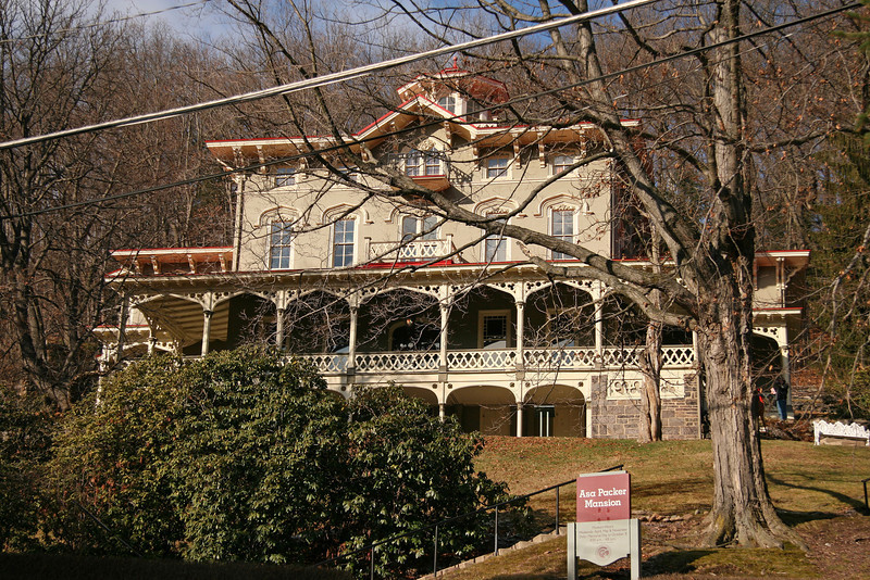 056 Tha Asa Packer Mansion in Jim Thorpe, PA