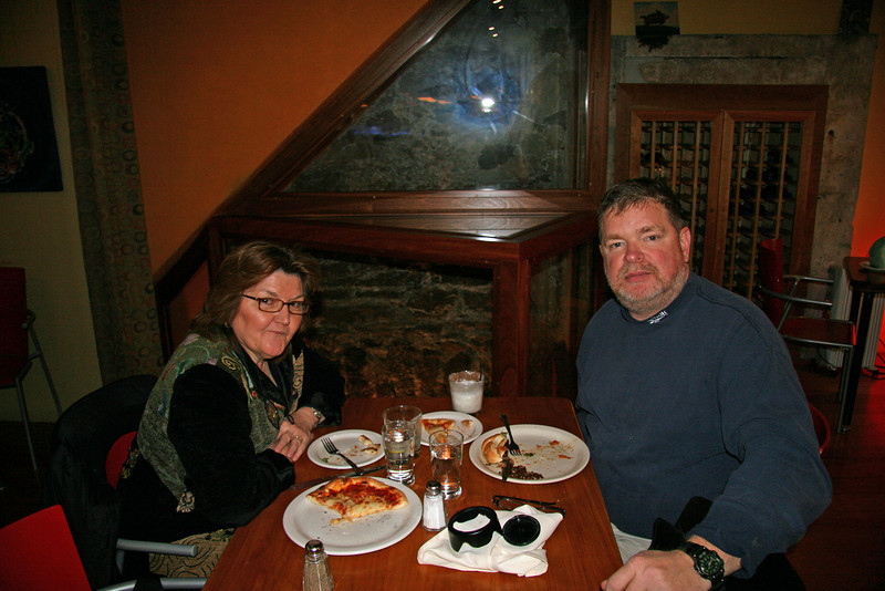 096 Doug & Ann lunch at Flow Food & Drink in Jim Thorpe, PA