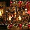 014 Victorian-decorated merchant window at Collectables on Broadway adds to the Christmas atmosphere