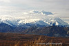 Denali Mountain, north and south peaks, again.
