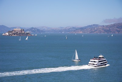 Alcatraz and It's Ferry