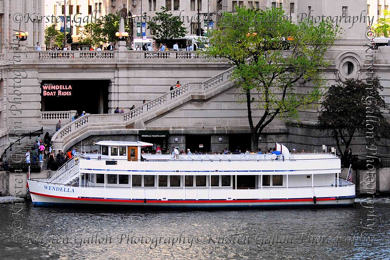 The Wendella.  This is the boat tour we took along the Chicago River and out onto Lake Michigan.