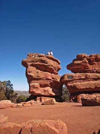 Above Balancing Rock