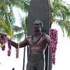 OAHU-Waikiki: Duke Kahanamoku statue
