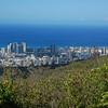 View of Honolulu from Mt. Tantalus