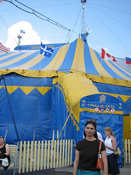Nadia @ Cirque du Soleil