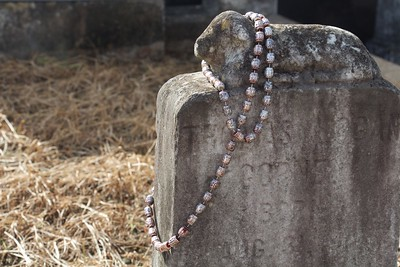 Headstone and Beads