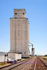 The grain elevator is the next stop for the semi full of wheat.  This one is located in Capron, OK, not too far from where I grew up.
