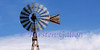 The good old fashioned source of energy to help get water from the wells.  The windmill.  This is one of the few all wood windmills in the area.