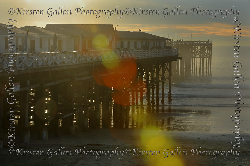 Crystal Pier, North Side, Pacific Beach, CA