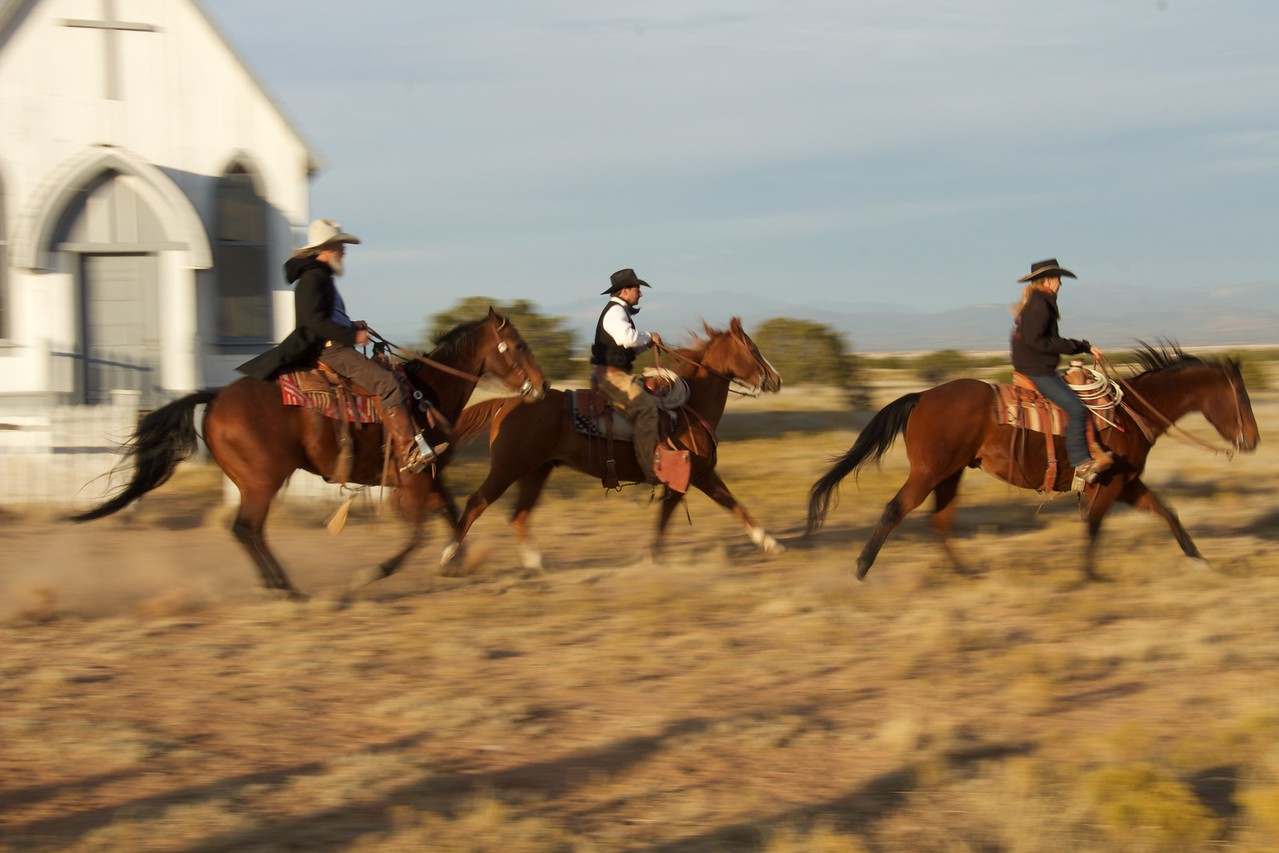 Cowboys in Motion