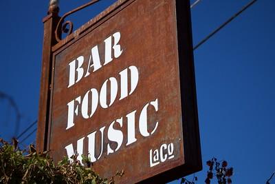 Bar Food Music