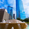 Bob and Vivian Smith fountain in Houston Texas