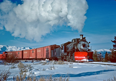 December 15, 1961.  I believe the C&S steam operation on the isolated Climax branch may have been the last regular use of standard gauge steam on a Class I in the U.S. As I remember the story, the C&S continued to use steam because there was some doubt about how well diesels would perform at the high altitude (Climax is 11,360 feet). Unfortunately the diesels did just fine when they got around to trying them a few months later.