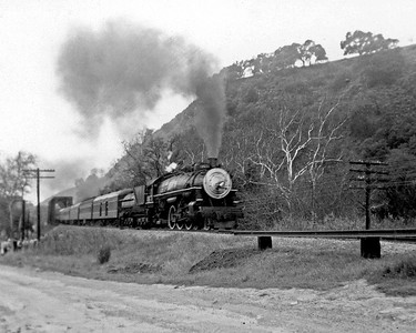 January 1, 1958.  My first fan trip, my very first train picture.  The Central Coast Railway Club trip ran from San Jose to Tracy via Altamont Pass.