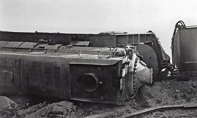 Unknown derailment of the SP 4030.