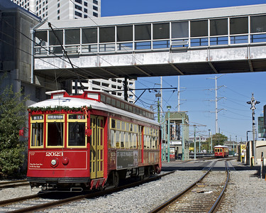 "December 1, 2016.  The Riverfront line appears to be served by a combination of the ""rabbit eared"" cars and the non-air conditioned 400-series cars."