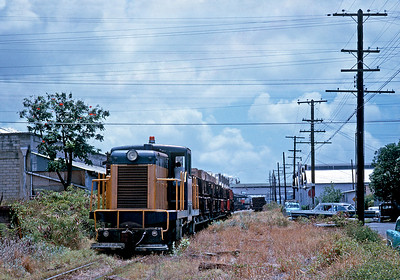 After the mainline was abandoned the OR&L continued to provide shuttle service between the canneries in Honolulu and the nearby docks.  This lasted until around 1970.
