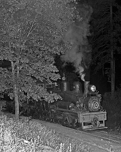 June 7, 1961.  The last train into the woods heads out of Tuolumne.