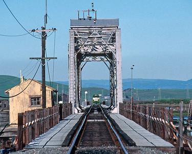 April 1996.  Black Point bridge.