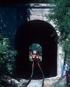 April 1997. Cloverdale tunnel.