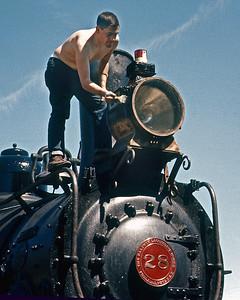 May 1961.  Looks like I got the job of doing the headlight.