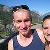 Neil, Kate, El Cap and Half Dome!  All looking a little pale in the bright summer sun!