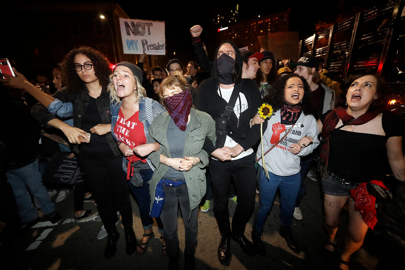 Election Protests California