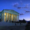 Jefferson Memorial by Night