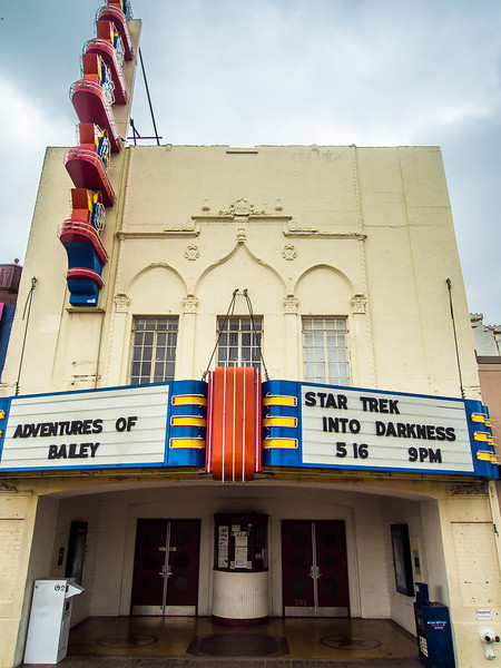 Texas Theatre, Dallas, where Lee Harvey Oswald was arrested.