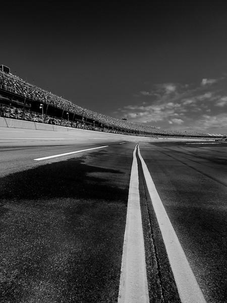 White line fever, Talladega Super Speedway