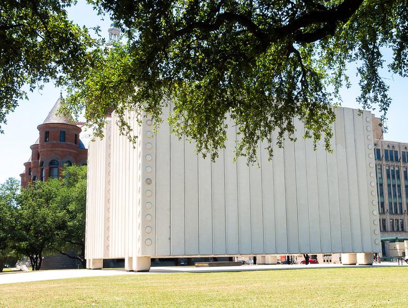 JFK Memorial, Dallas.