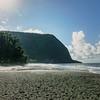 Waipio Valley Black Sand Beach