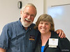 Prof. Ed Langerak (Great Conversation, philosophy) with Kari at our 25th reunion weekend at St. Olaf.