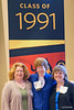 Loretta, me (Louise), and Kari at our 25th reunion, Sunday, June 5, 2016, Boe Chapel. We were roommates sophomore year (and are missing our fourth roommate, Kara!).