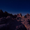 Badlands Nightscape