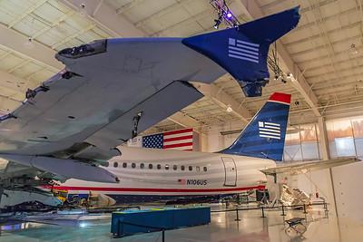 US Airways Airbus A320-214 N106US 2-13-18 5