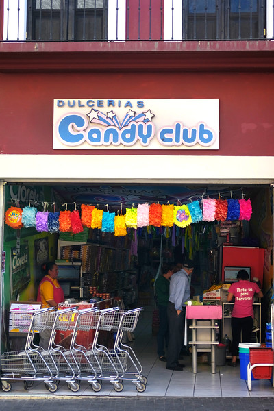 Candy Club. Guanajuato City. April 2019