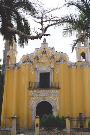 San Juan Bautista, Mérida. June 2018
