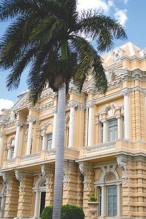 Palacio Cantón en Paseo de Montejo, Mérida. February 2018