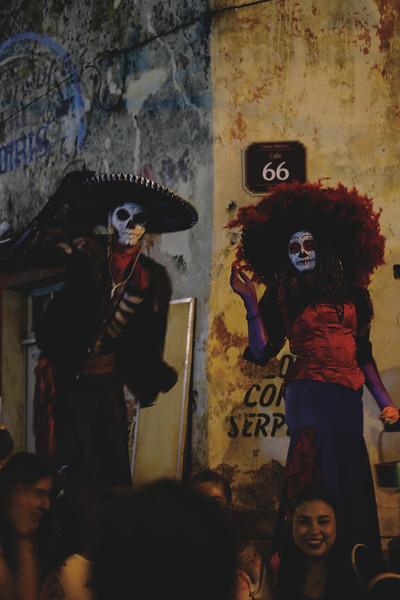 El Paseo de las Ánimas. October 2018