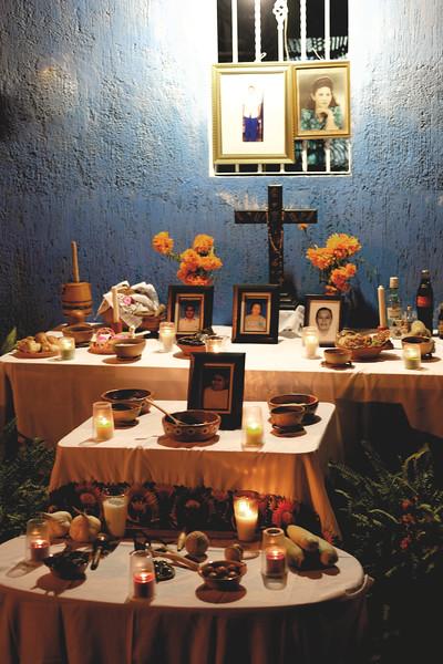 A Hanal Pixan altar. October 2018