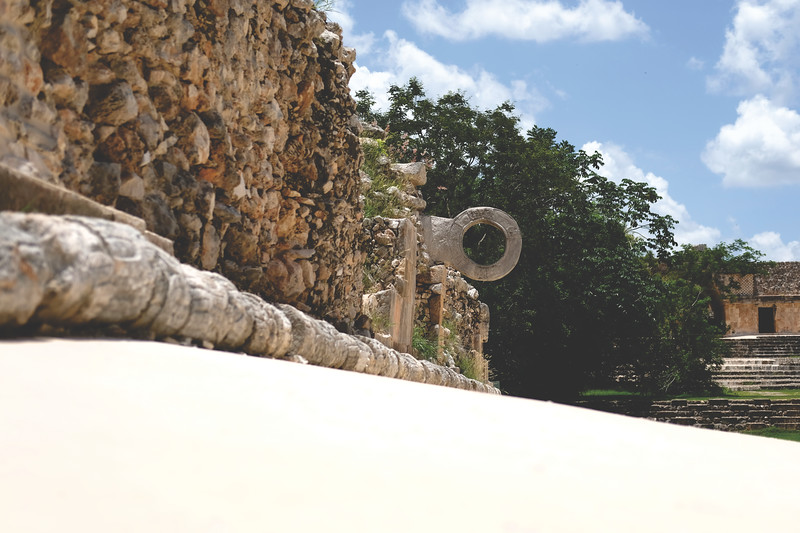 Poc a poc ballcourt, Uxmal. July 2018