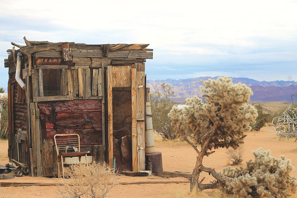 Noah Purifoy's Outdoor Desert Art Museum. January 2018
