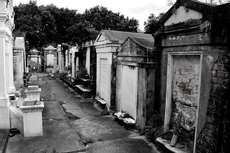 Lafayette Cemetery. July 2016