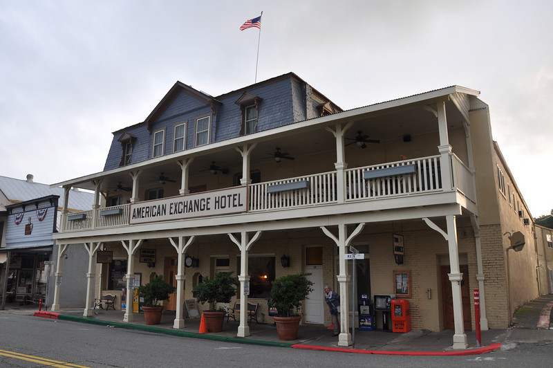 The American Exchange Hotel in Sutter Creek is home to the Twisted Fork restaurant