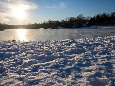 Watchung Circle Lake