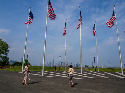 11 juin : Liberty State Park en face de New York