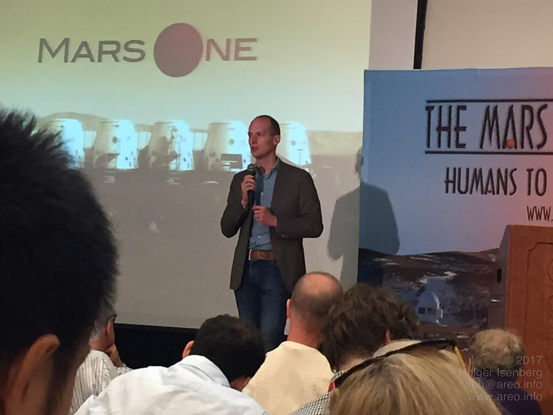 Bas Lansdorp gives some insight of his work as CEO of Mars One and the company's goal to found a permanent human settlement on the surface of Mars.