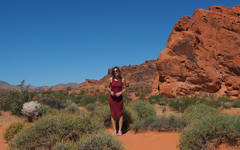 Happy to have taken a day trip to Valley of Fire because the landscapes are magical!